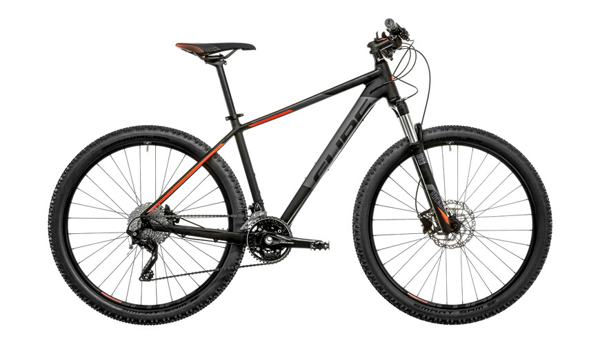 Cube Attention SL MTB Hardtail orange/svart